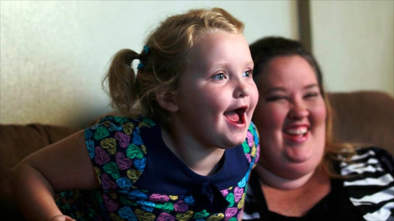 Illustration for article titled Mama June Let Honey Boo Boo Hang Out with Her Molester Boyfriend