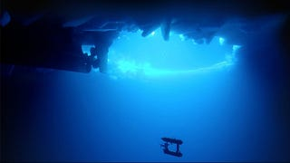 Illustration for article titled Robotic Submarine Finds Antarctic Ice Is Thicker than We Thought