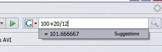 Illustration for article titled Firefox  2 Tip:  Instant calculator