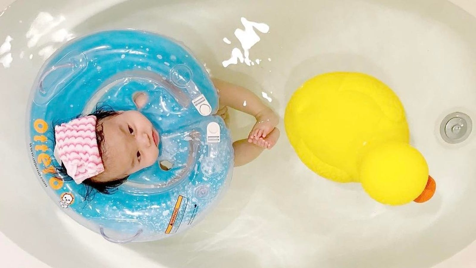 Read This If You\'re About to Put Your Baby in a Donut Neck Float