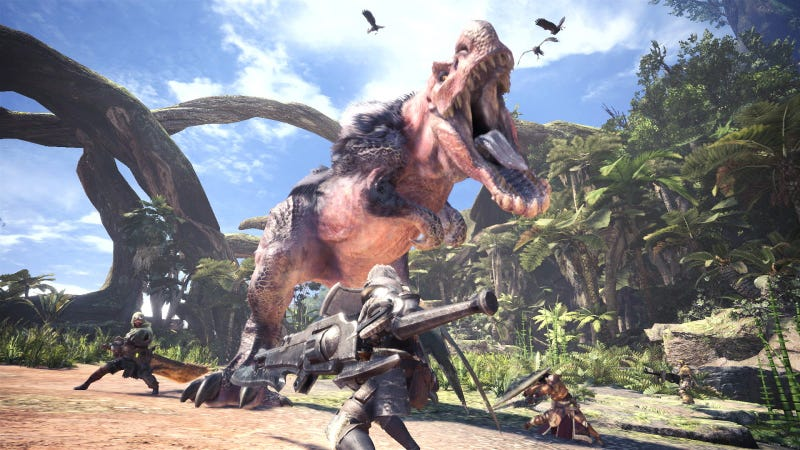 Illustration for article titled What Monster Hunter: World's Multiplayer Gets Right And Wrong