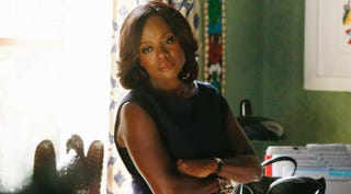 Talk about being alone; Annalise's (Viola Davis) husband is dead, and the two men she's closest to are now conspiring to bring her down.Mitch Haaseth/ABC