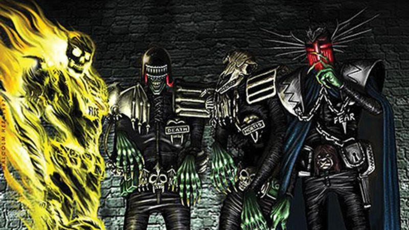Illustration for article titled The executive producer of Dredd is giving it an online spinoff series