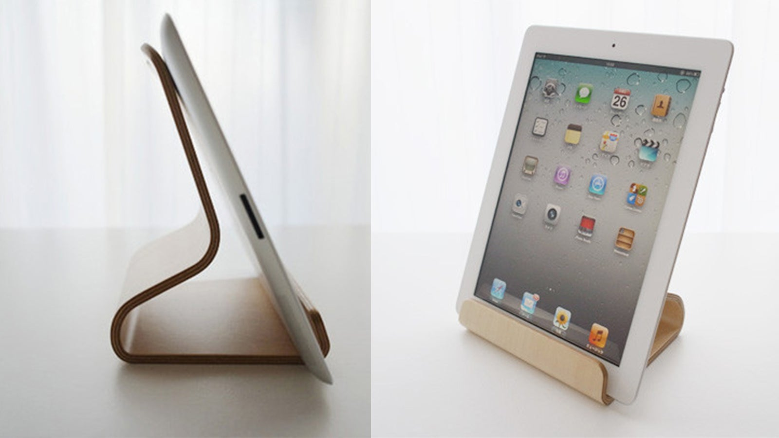 It May Be Called The 39 Desktop Chair 39 But This Ipad Stand Would Look Great In A Kitchen