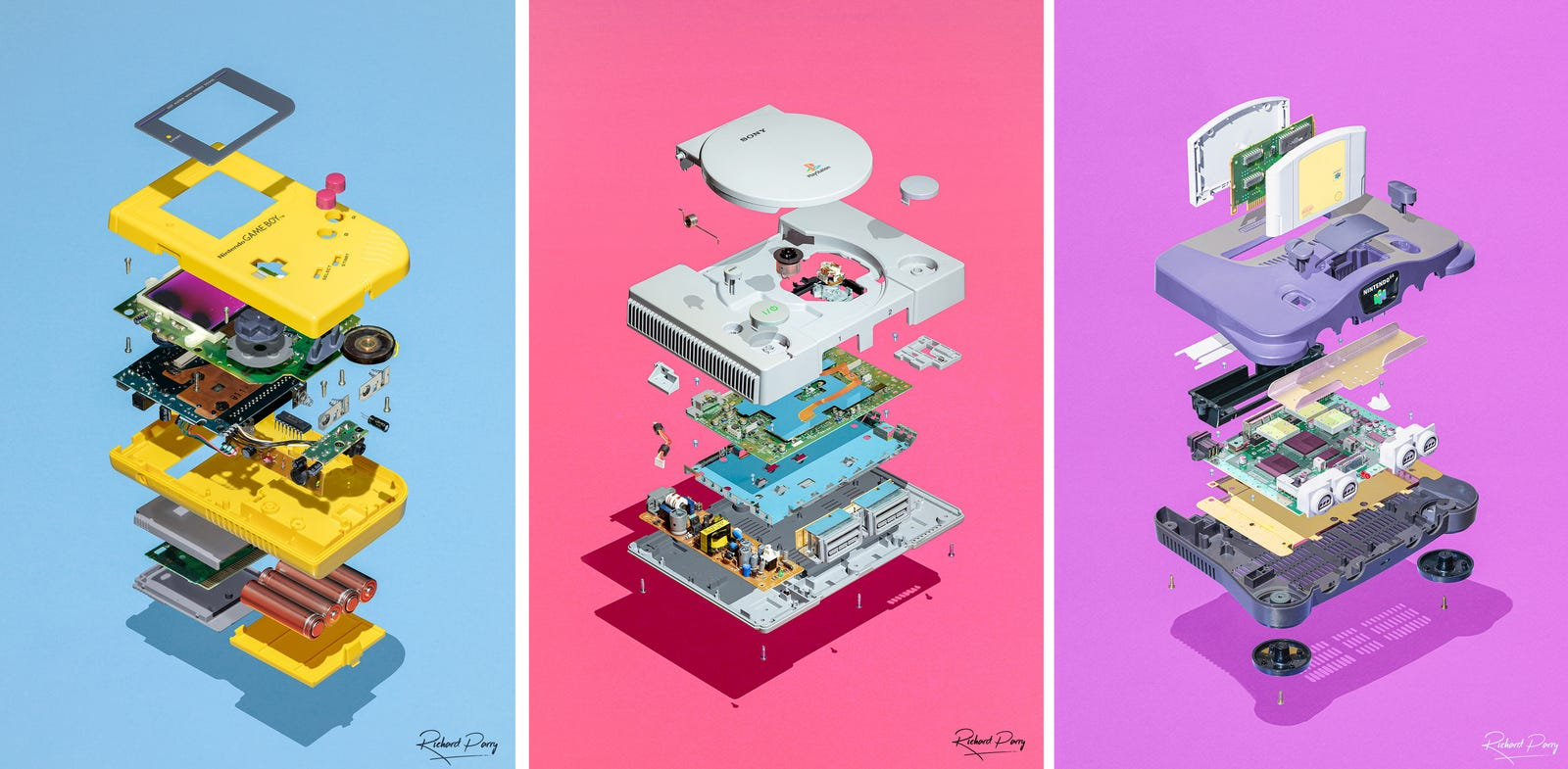 Photographer Captures The Hidden Beauty Inside Stripped Down Gaming Consoles