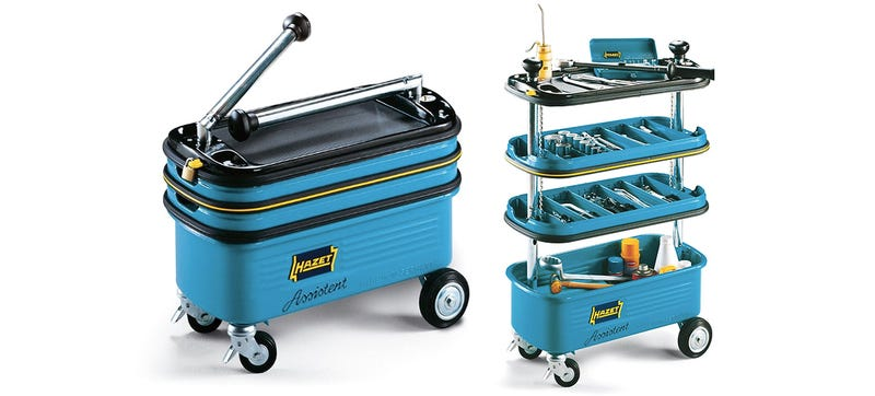 Illustration for article titled A Pop-Up Toolbox On Wheels Puts All Your Tools In Easy Reach
