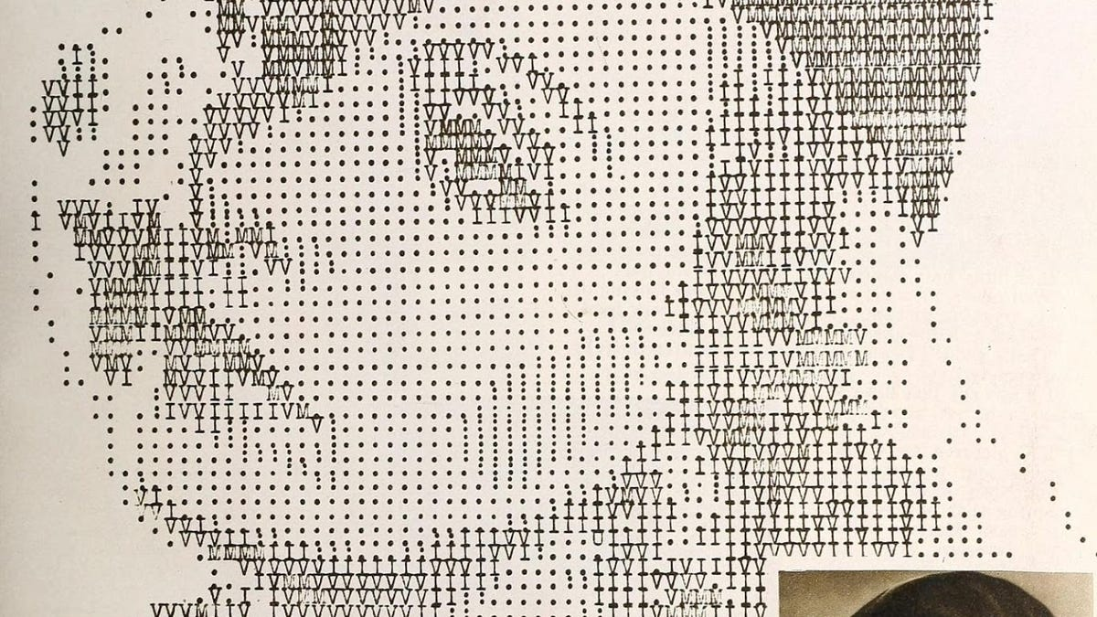 The Typewriter ASCII Portraits of Classic Hollywood and the