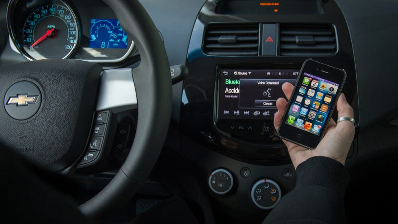 Illustration for article titled Chevrolet Offers iPhone Users Siri Eyes Free Integration