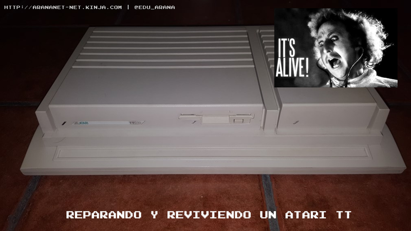 Illustration for article titled Reparando y reviviendo un Atari TT
