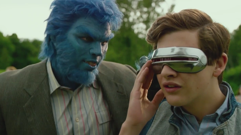 Illustration for article titled X-Men: ApocalypseDeleted Scene Shows How Cyclops Got His Visor (and His Name)