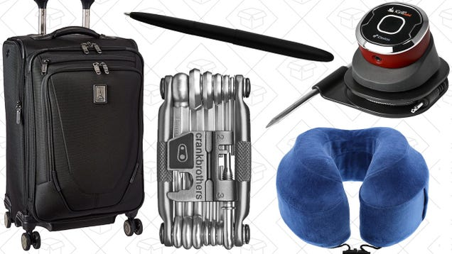 Saturday's Best Deals: Travelpro Luggage, Your Favorite Travel Pillow, Biking Gear, and More