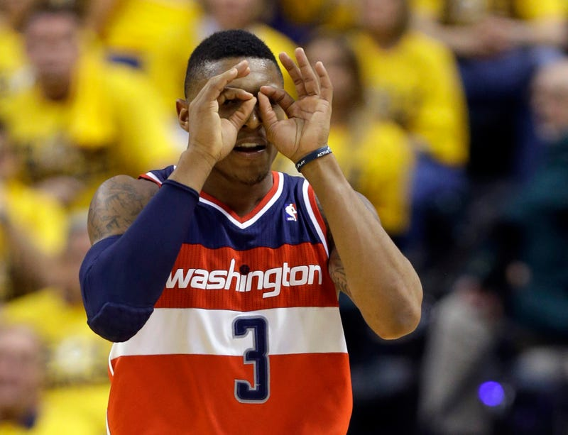 """Illustration for article titled Report: Bradley Beal To Miss """"Significant"""" Time With Wrist Injury"""