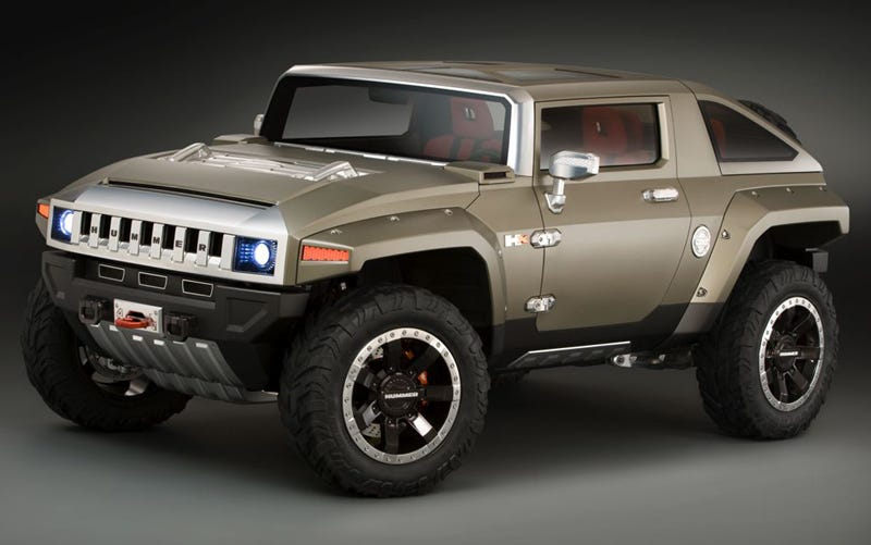 Illustration for article titled Detroit Auto Show: Hummer HX Concept Embargo Totally Fragged
