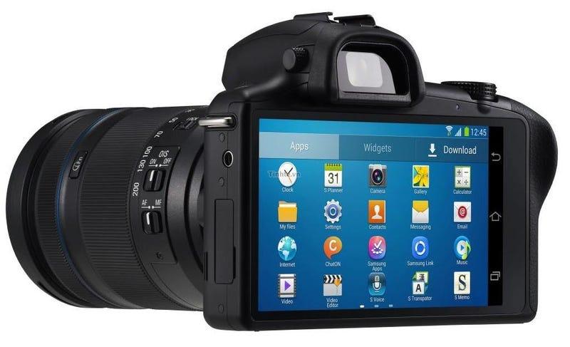 Así es la nueva cámara Android sin espejo de Samsung