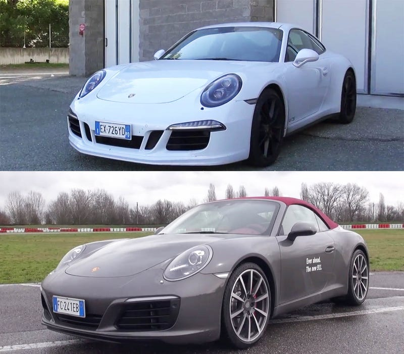 Except For Some Whooshing The New Turbo Porsche 911 Sounds Like Old One
