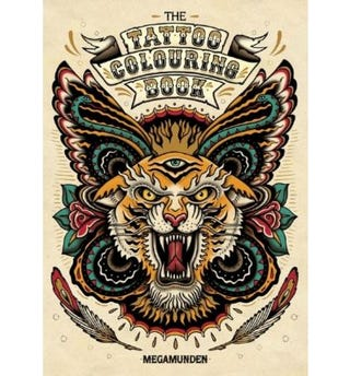 Illustration for article titled Tattoo colouring book