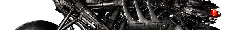 Illustration for article titled Terminator Motorcycles: First Up-Close Look