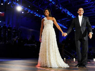 Michelle Obama and Barack Obama (Richard A. Lipski/Washington Post-Getty Images)