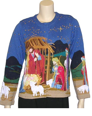 """Illustration for article titled Christmas Couture: Cats Are Cool, Mistletoe Is """"So Last Year"""""""