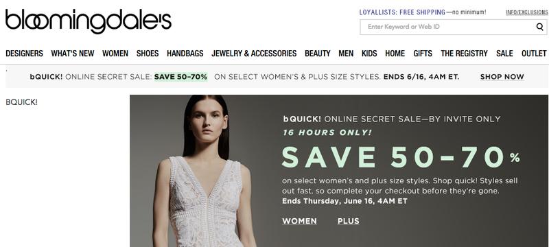 Illustration for article titled Bloomingdale's is Having a Secret 50-70% Off Sale