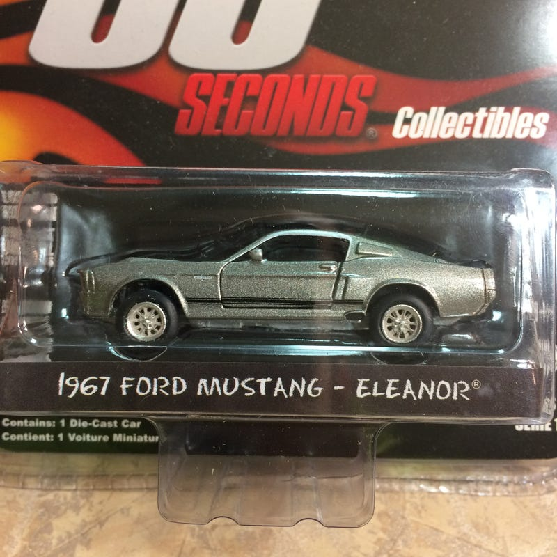 Illustration for article titled 1967 Ford Mustang -Eleanor® by Greenlight