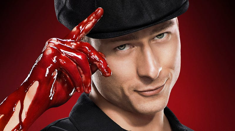Glen Powell as Chad Radwell in Fox's Scream Queens.