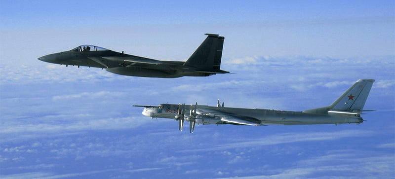 Illustration for article titled Russian Bombers Have Buzzed The California Coast