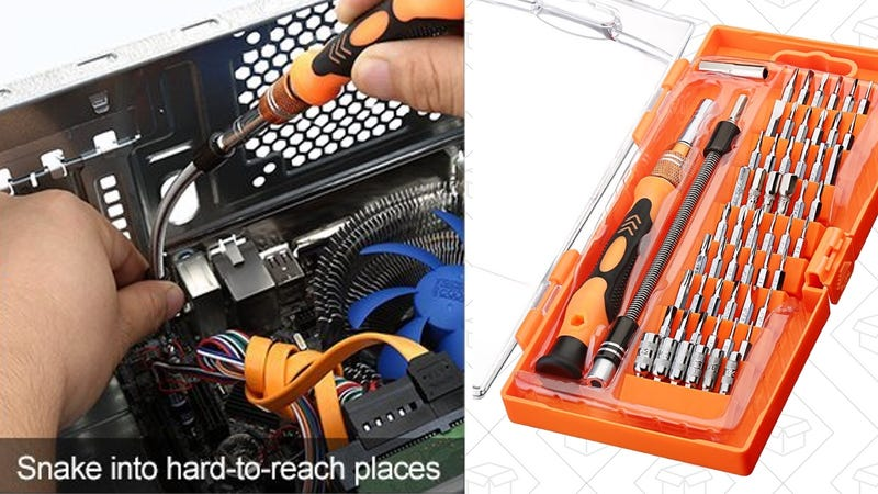 Cymas Magnetic 54-Bit Screwdriver Kit | $11 | Amazon | Promo code PG6RSEPQ