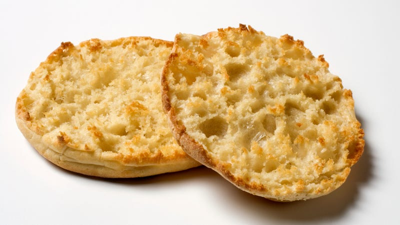 Illustration for article titled TIL there's a right way to split an English muffin