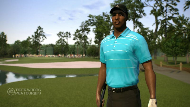 Illustration for article titled Tiger Woods PGA Tour 13 Celebrities