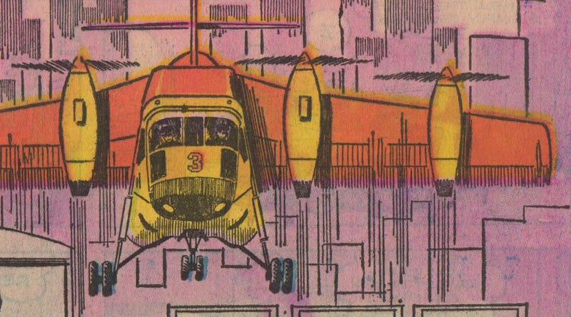 Illustration for article titled 1970 Predicts: 25% of Commuters Will Use Flying Machines by 2000