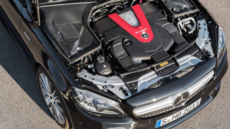 Ilration For Article Led The 2019 Mercedes Amg C43 Gets Ger Turbos And Is Basically