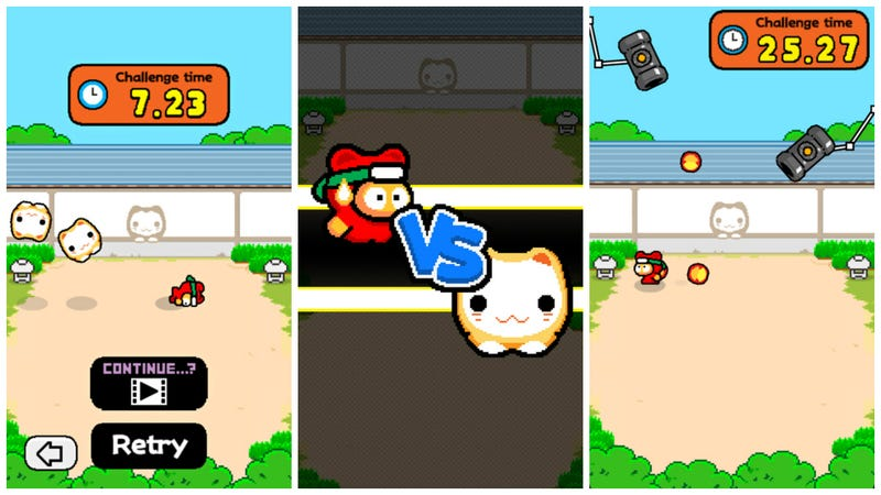 The 'Flappy Bird' creator is back with an addictive new game