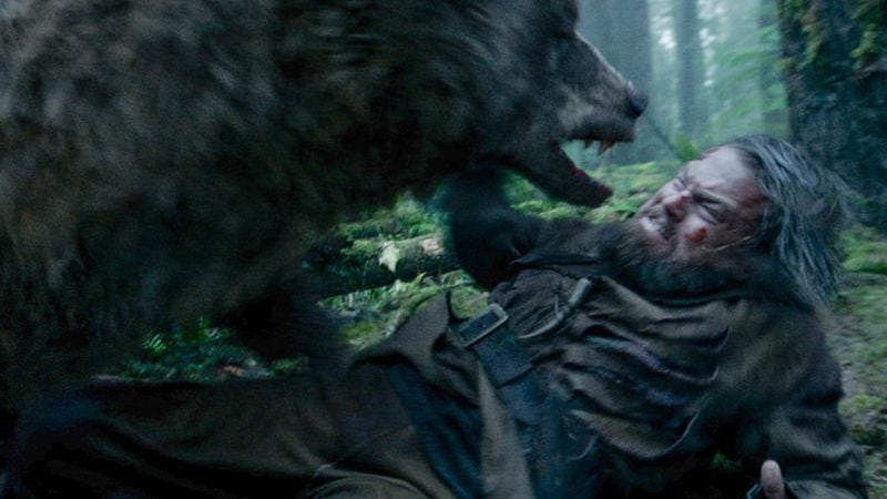 A totally consensual interaction between bear and man