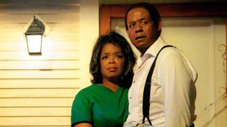 Oprah Winfrey and Forest Whitaker in a shot from Lee Daniels' The Butler (Lee Daniels Entertainment)