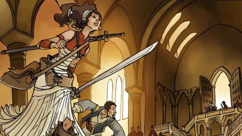 (Image: First Second Books, Delilah Dirk And The Turkish Lieutenant)