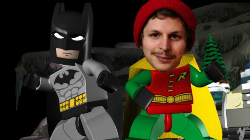 Illustration for article titled Michael Cera will play Robin in Lego Batman