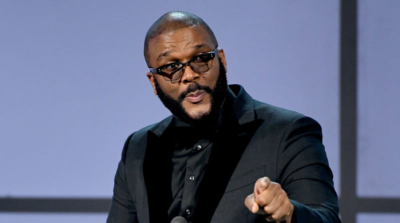 Tyler Perry accepts the Ultimate Icon Award onstage at the 2019 BET Awards on June 23, 2019 in Los Angeles, California.