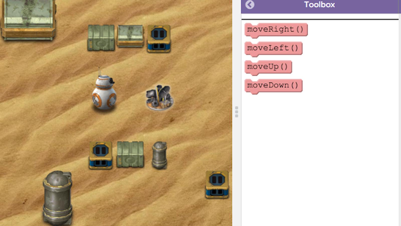 Este curso online enseña a programar usando personajes de Star Wars: The Force Awakens