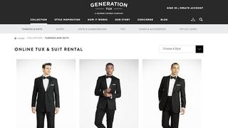 Illustration for article titled Generation Tux Makes Group Formalwear Rental for Men Easy