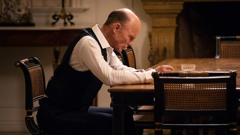 William (Ed Harris) contemplates life in HBO's Westworld.