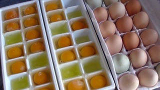 Illustration for article titled Freeze Eggs in Ice Cube Trays to Preserve Them Longer