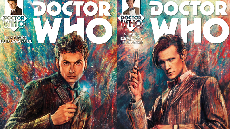Illustration for article titled Behold these gorgeous covers for Titan's new run of Doctor Who comics
