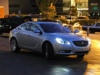 Illustration for article titled First Shot Of New Buick Regal!
