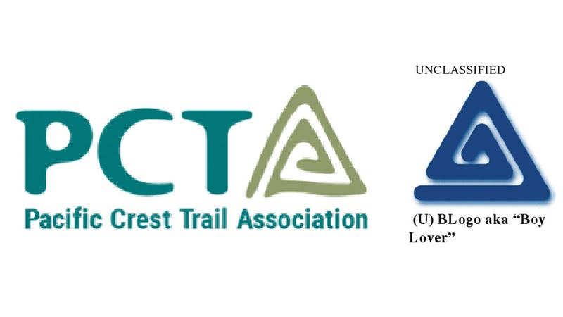 pacific crest trail association axes new logo after realizing it