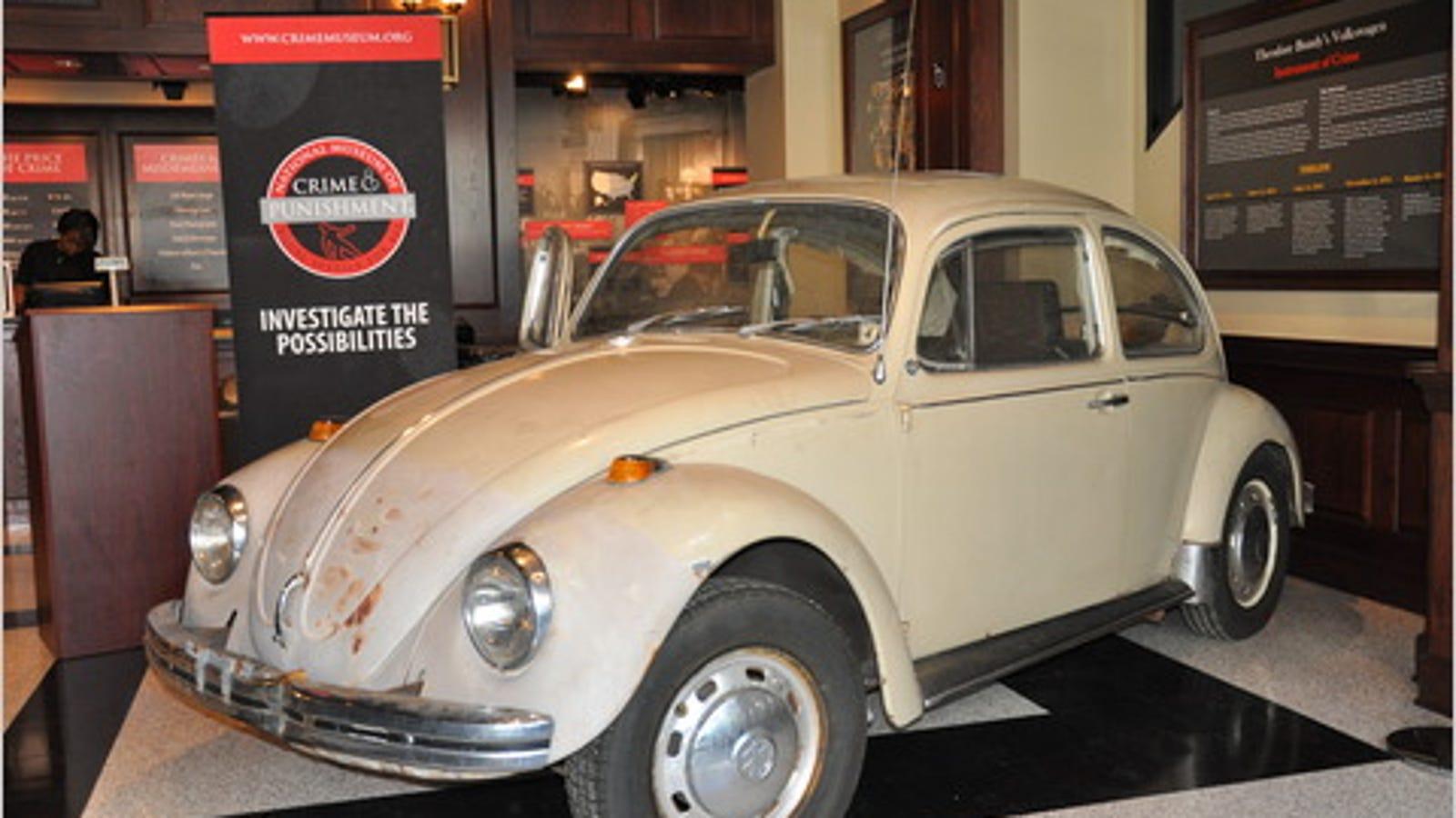 Companies Owned By Volkswagen >> Ted Bundy's VW Beetle On Display In Creepy Museum