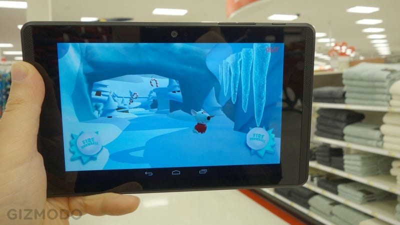 Illustration for article titled Google's Reality-Bending Tablet Turned My Target Into an Icy Playground