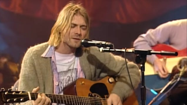 Nirvana's YouTube channel has been uploading remastered, unedited Unplugged In New York videos