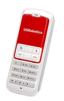 Usrobotics Shows Off Two Skype Phones