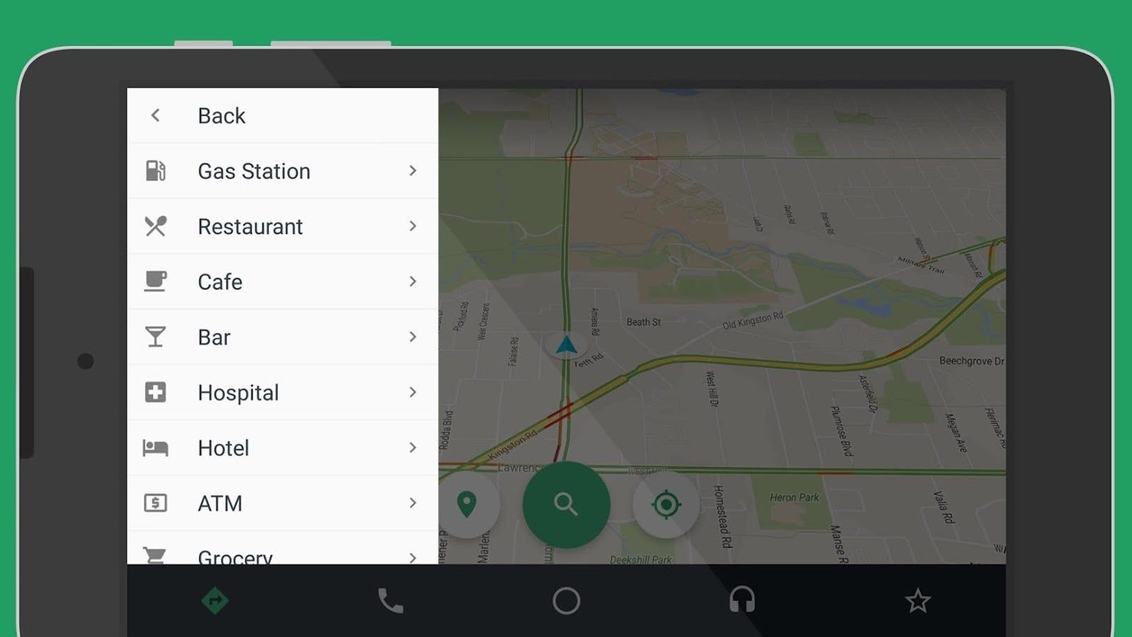 Esta app convierte tu móvil en un salpicadero inteligente para coches al estilo Android Auto